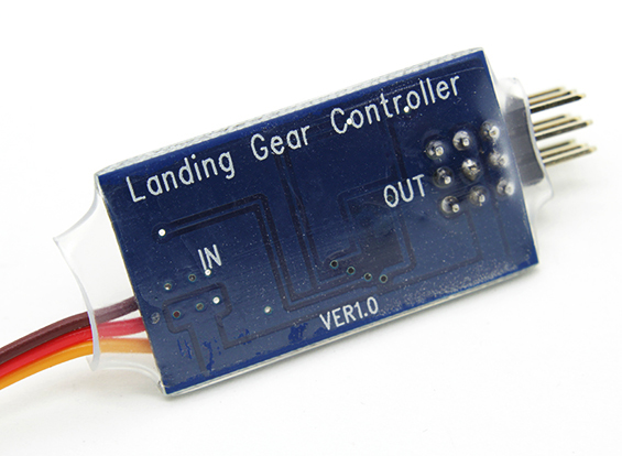 R C Smart Landing Gear Controller For Electric Retracts