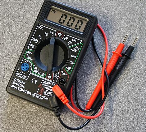 Tester digital multimeter