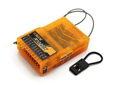 OrangeRx R1020X 10Ch 2 4 GHz DSM2/DSMX Full Range Receiver w/Sat