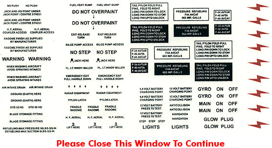 Wording No Step Ect 2mm 4mm Gt Scale Miscelaneous Decals
