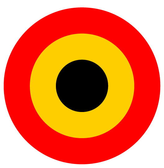 Belgian Air Force Roundel Gt Insignia Other Countries