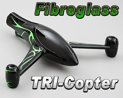 Y-3 Fiberglass Tri-Copter Frame (KIT) > TRI-COPTERS > Multicopter ...