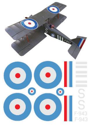 Se5a Decal Sets Gt Scale Bi Plane Cnc Gt Cut Vinyl