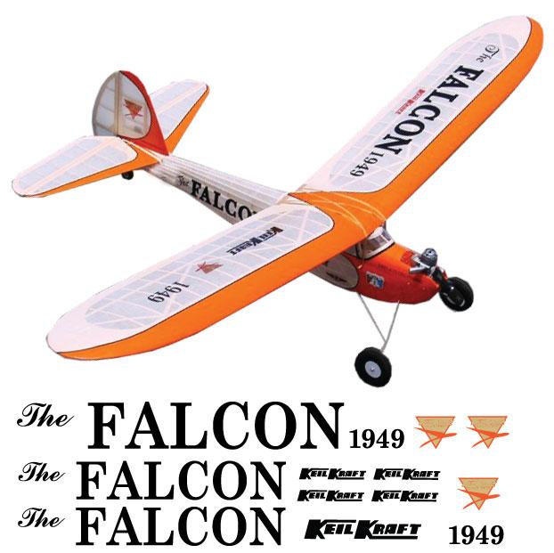 Keil Kraft Falcon Decal Set Gt Vintage Models Cnc Cut