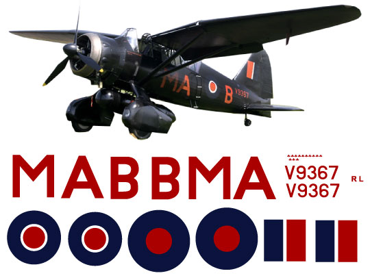 Westland Lysander Scale Decal Sets Gt Scale Monoplane